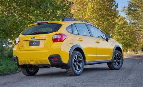 subaru yellow subaru sunshine yellow edition announced for australia