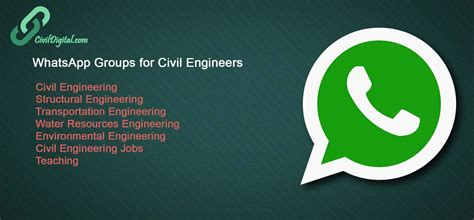 tutorial whatsapp ppt join civildigital whatsapp groups civil engineering