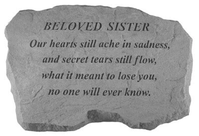 words of comfort for loss of sister sympathy gift for the loss or death of a sister