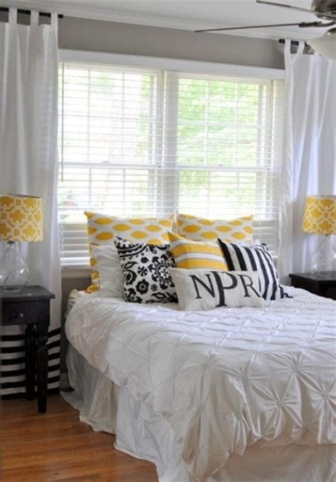 black and white and yellow bedroom stylish bedroom design ideas with yellow colors and accents vizmini