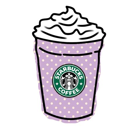 Starbucks. ? (Credits who own this pic)   We Heart It   starbucks, transparent, and tumblr