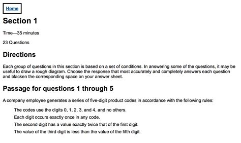 How Many Sections Are On The Lsat by Does The Lsat Discriminate Against The Visually Impaired