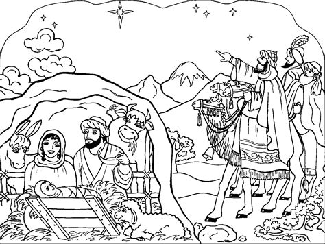 christian christmas coloring pages for adults christmas coloring pages