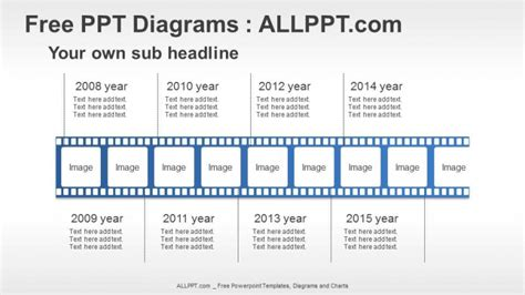 film timeline ppt diagrams download free