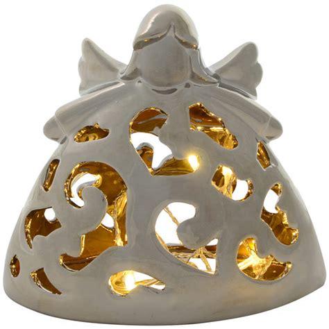 festive porcelain light up battery operated warm white led