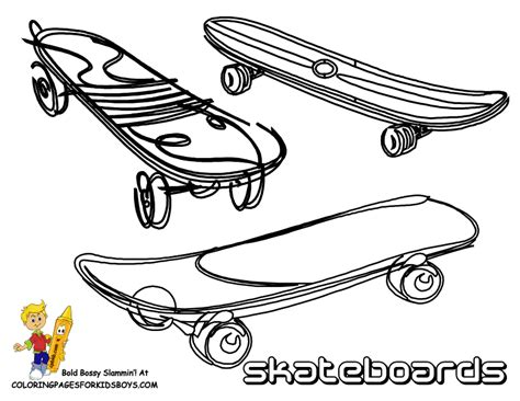 Fun Transportation Coloring Balloons Free Bikes Skateboard Coloring Pages