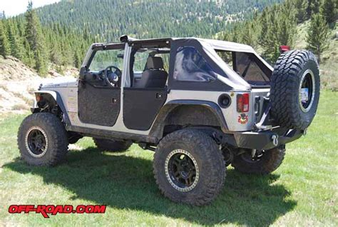 Jeep Jk Soft Doors Bestop Two Soft Doors For Project Jeep Jk Rubicon