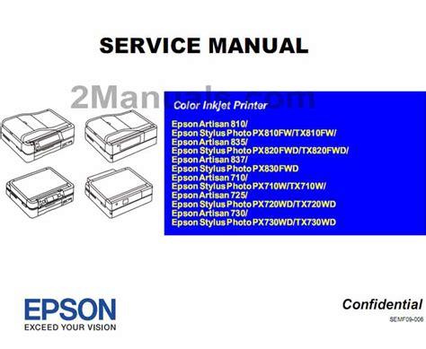 Service Printer Epson L210 epson l210 service manual pdf