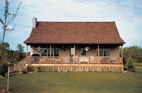 Relax On The Long Covered Porch Of This Country Style Home Country Home Plans With Covered Porches