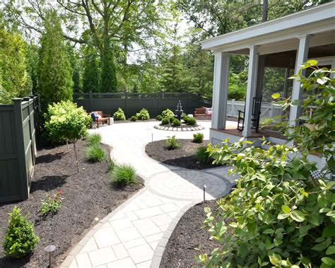 paver patio with a the chronicles of home