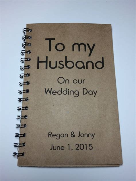 To my Husband on our Wedding Day, Journal, Notebook