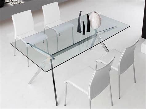 tavoli in vetro calligaris tavolo fisso seven di connubia by calligaris con piano in