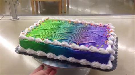 color changing cake tutorial