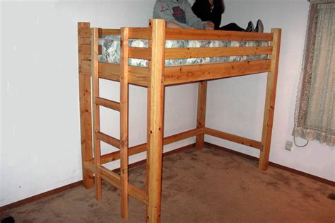 How To Make Wooden Bunk Beds Diy Loft Bed Plans Are Loft Beds Bunk Beds Safe Bed Plans Diy Blueprints