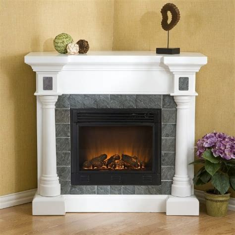 Large Corner Electric Fireplace by Corner Electric Fireplace