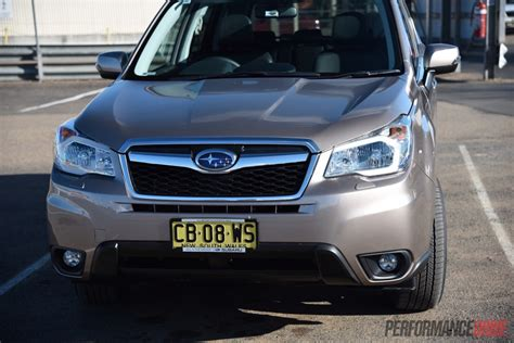2015 Subaru Forester 2 0d S Review Video Performancedrive