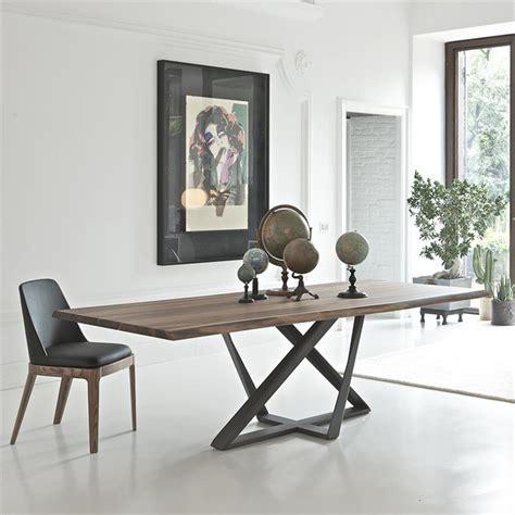 Pied De Table Metal Design 5795 by Table Design En Noyer Pied M 233 Tal Bontempi Casa Sur Cdc Design