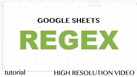 youtube regex pattern google sheets regex regexextract functions exctract