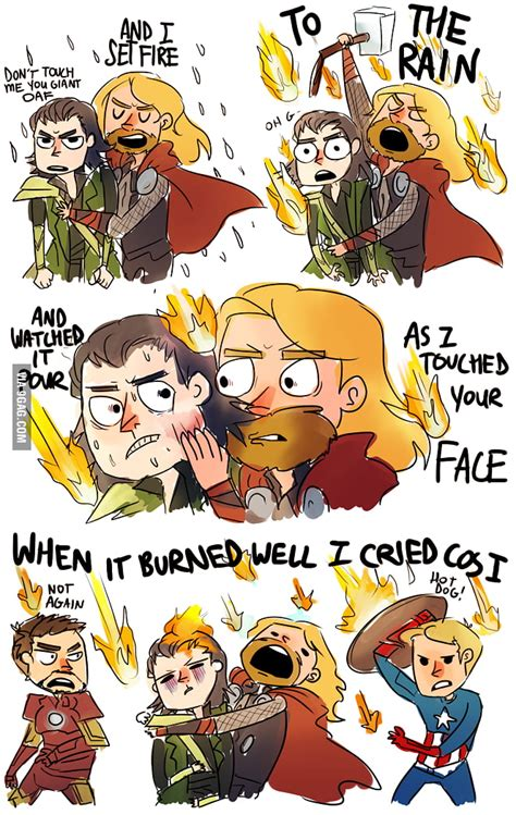 Shinee Im Your Boy Limited Edition Type B thor hugging loki and singing set to the 9gag