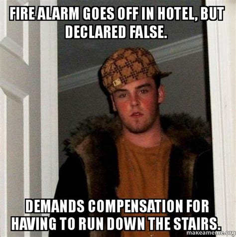 goes off fire alarm goes off in hotel but declared false demands