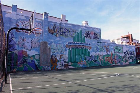 wizard of oz wall mural a wizard of oz mural at a basketball court photograph by