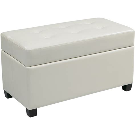rectangular storage ottoman vinyl rectangular storage ottoman multiple colors