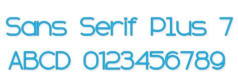 dafont sans serif sans serif plus 7 font dafont com