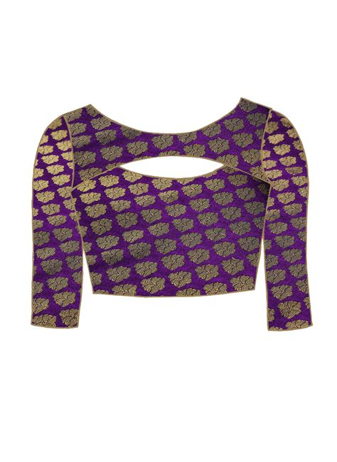 Floral Brocade Blouse brocade blouses photo album best fashion trends and models