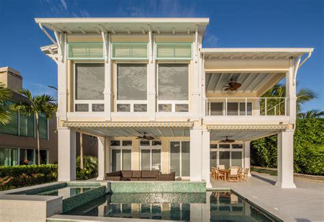 intracoastal key west style custom house style exterior miami by nmb custom homes