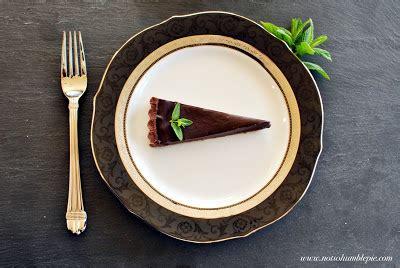 Bp Mr Go Mint not so humble pie fresh mint truffle tart