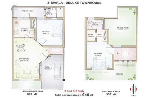 home design for 4 marla house map design pakistan studio best building plans 40395