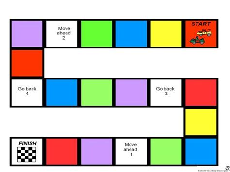 printable board games templates 6 best images of free printable blank board games blank