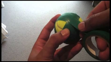 tape ball swing taping a tennis ball for backyard cricket youtube