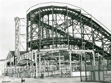 roller coaster tales of 1960 s coney island books thunderbolt roller coaster 1960s coney island