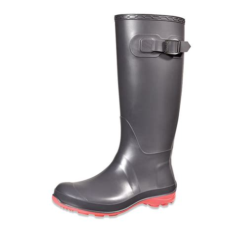 kamik s boots kamik boot charcoal pink sole ek2102