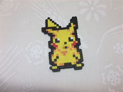 Tutorial hama beads.pyssla pikachu, My Crafts and DIY Projects
