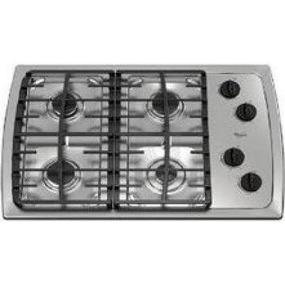 whirlpool gas cooktop 30 whirlpool scs3017rs 30 quot gas cooktop with 4 sealed burners