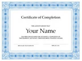 Certificate Of Completion Template Free 13 Certificate Of Completion Templates Excel Pdf Formats