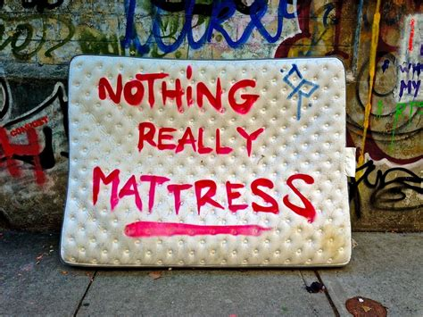 Nothing Really Mattress by Tribeca Citizen Local Lens Fred Dodnick And Teri Henry