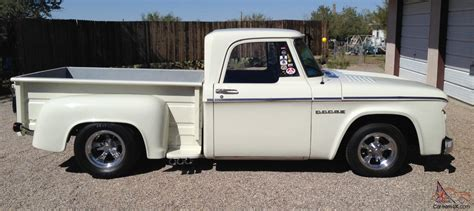 stepside bed 1966 dodge d 100 short bed stepside pickup truck