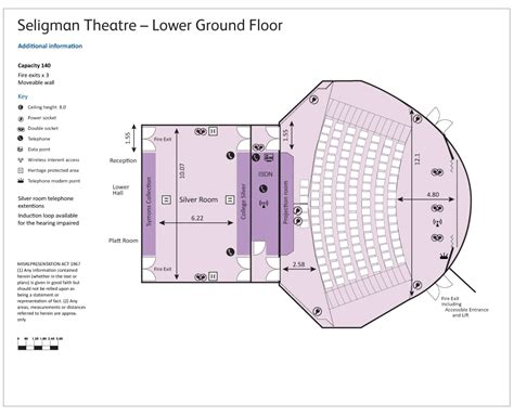 theater floor plan seligman theatre rcp events