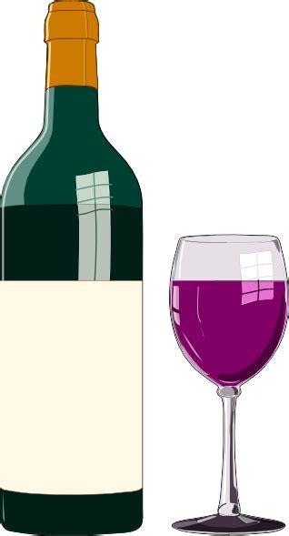 clipart vino bottiglia di vino pregiato clip at clker vector