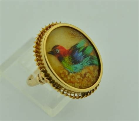 Ring Silver Oke 135 best real bird feathers jewelry images on