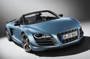 2012 audi r8 gt spyder is officially launched