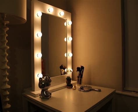Bedroom Mirror With Lights Vanity Mirrors For Bedroom Bathroom Walls Mirror D 233 Cor Ideas India
