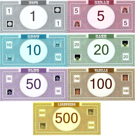 monopoly money templates template monopoly money template 5 best images of