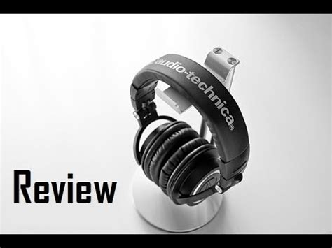 depth review audio technica ath mx youtube