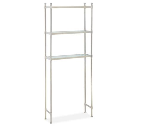 Metal Etagere Bathroom Metal The Toilet Etagere Pottery Barn