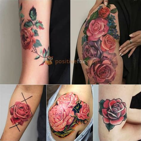 hot pink rose tattoo best 25 pink tattoos ideas on colorful