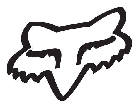 fox motocross stickers fox racing fox sticker revzilla